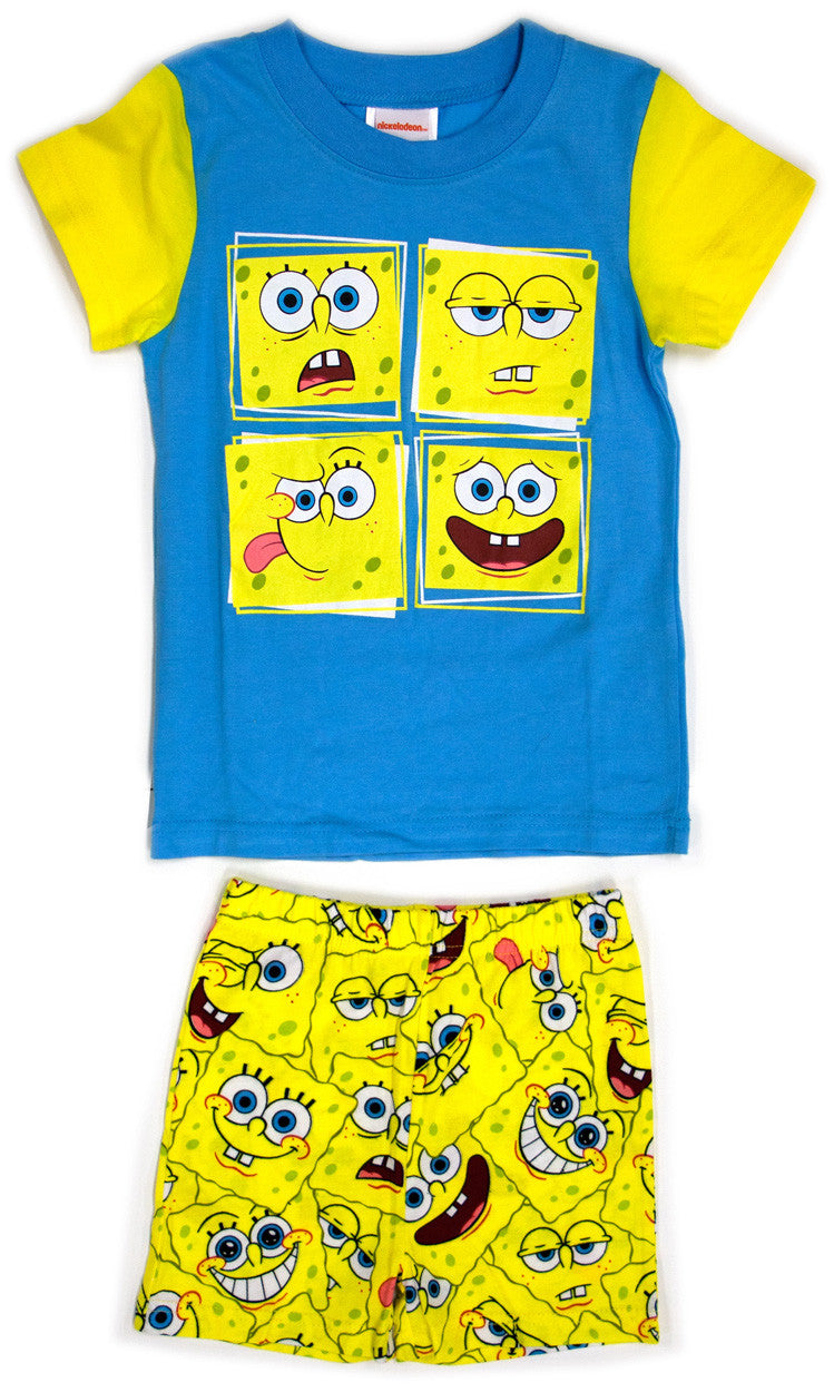 SpongeBob SquarePants 2 piece boys pyjama set