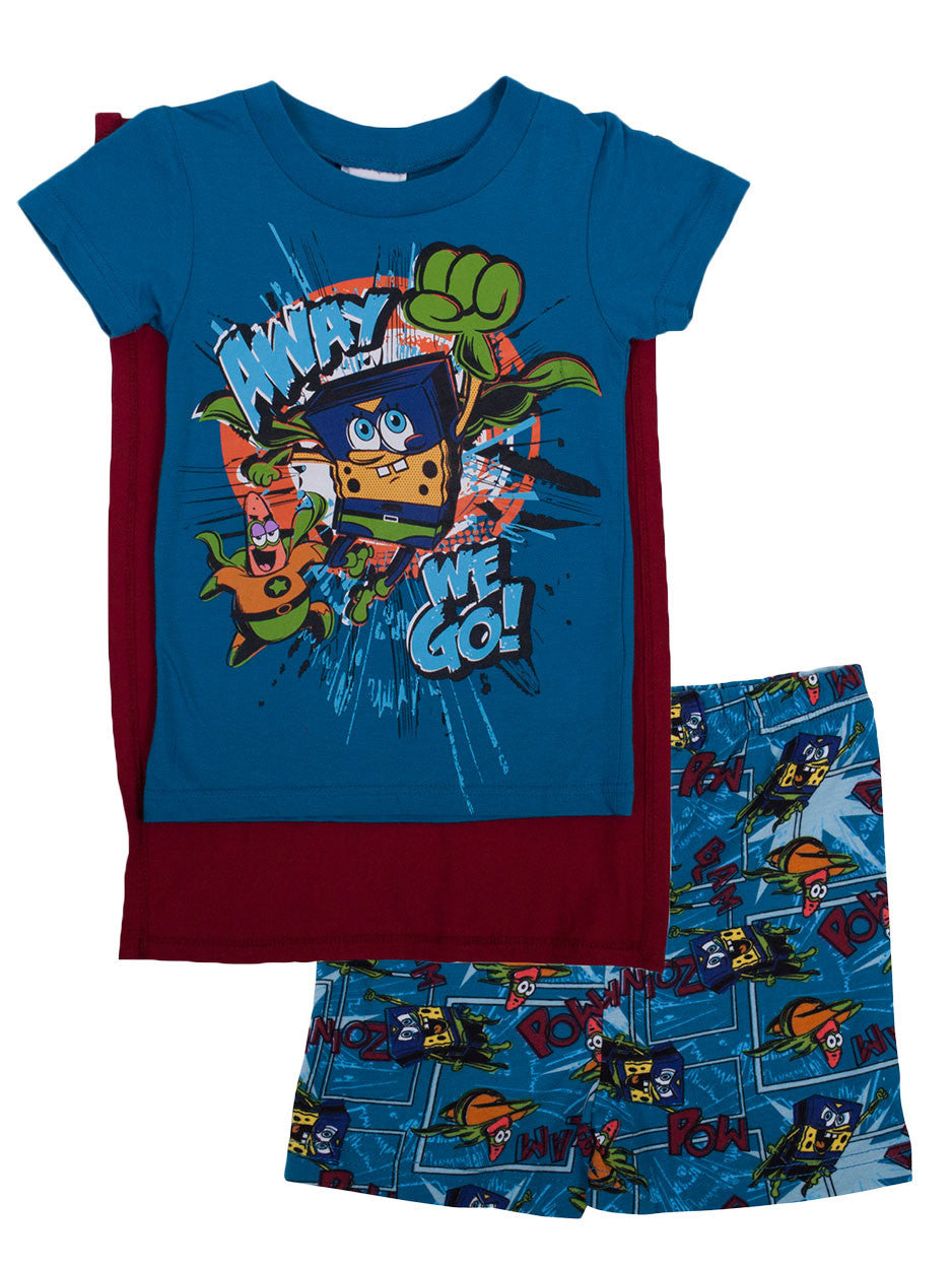 SpongeBob SquarePants Hero cape pyjama set
