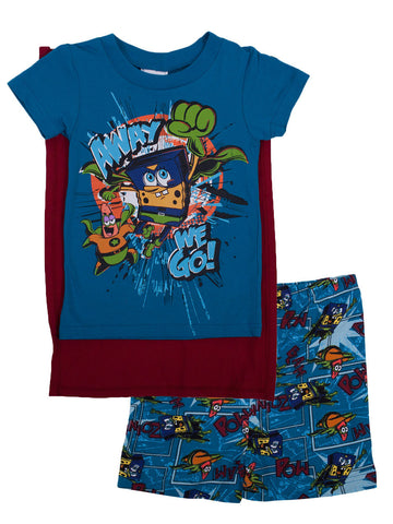 "SpongeBob SquarePants ""Hero Cape"" 2pc pyjamas Set - Boys"