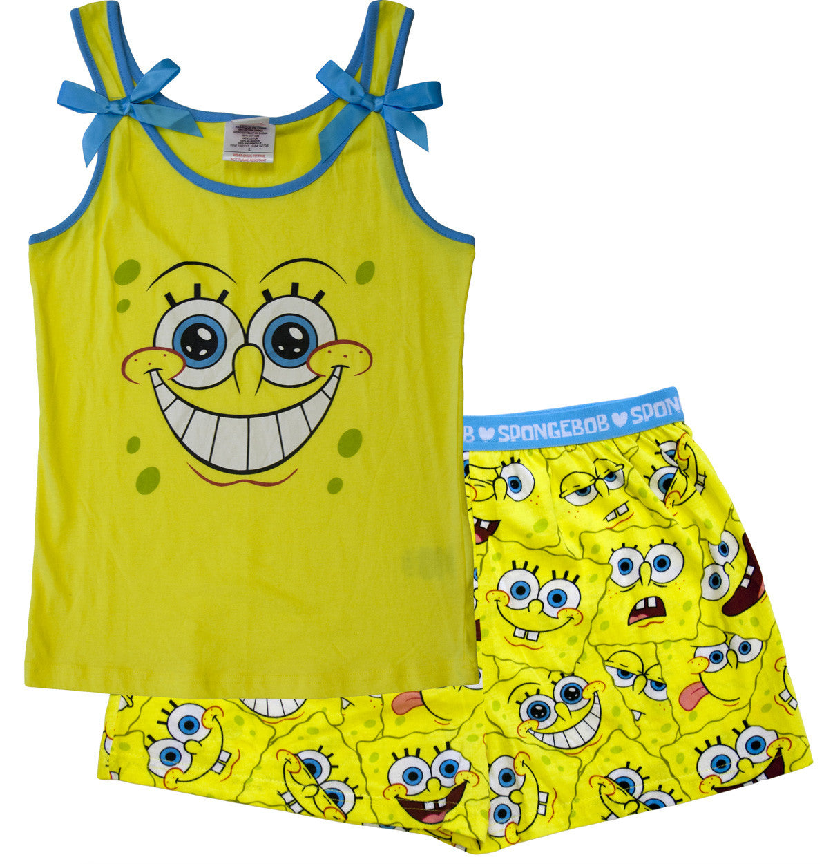 "SpongeBob SquarePants ""Big Face"" 2 pc Set - Girls - nickelodeonstore.co.uk"