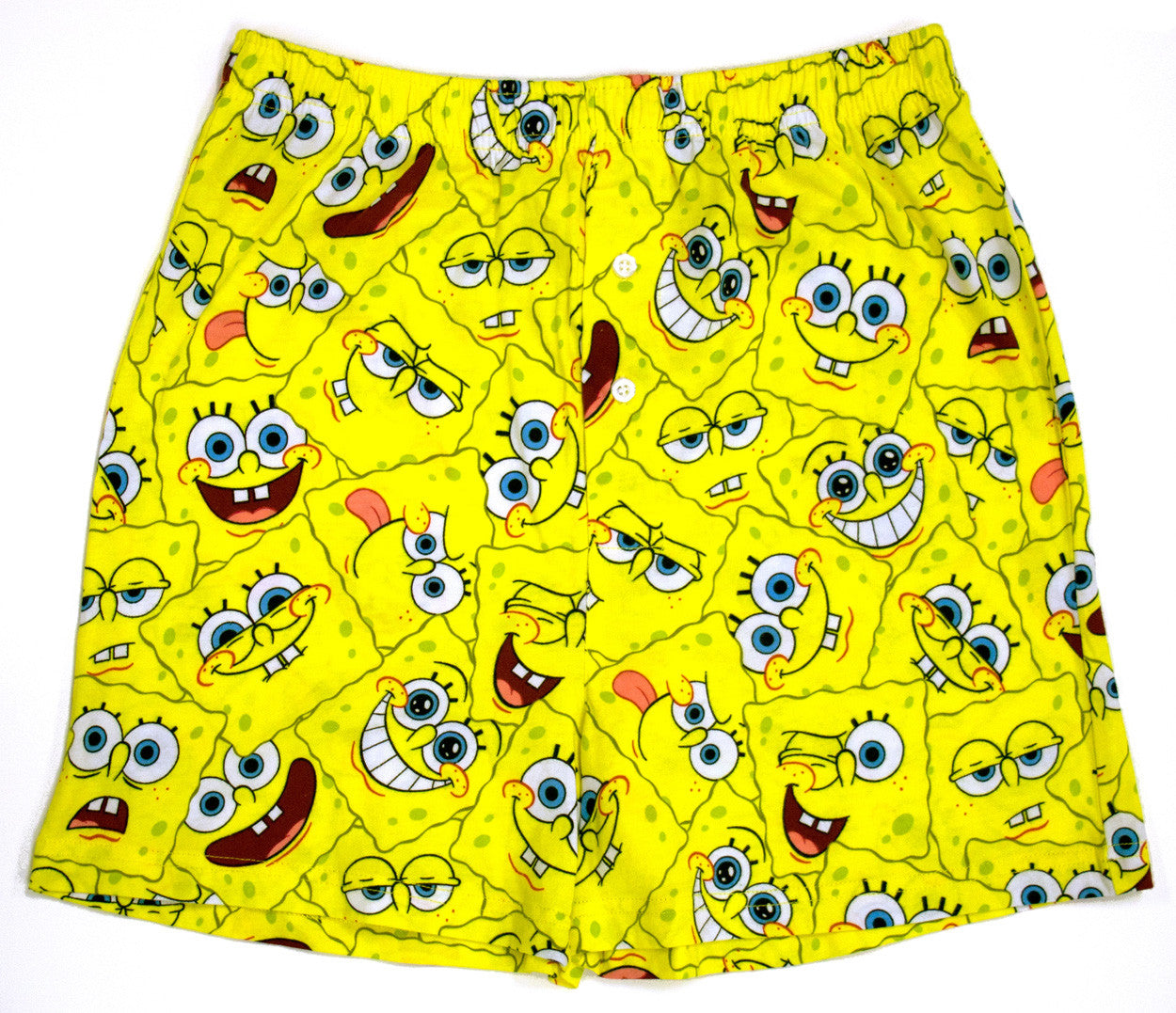 SpongeBob SquarePants mens faces lounge shorts
