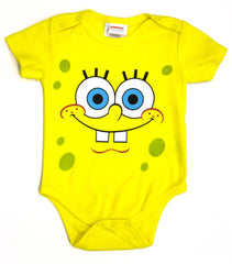 "SpongeBob SquarePants ""Baby Big Face"" Onesie - Infant - nickelodeonstore.co.uk"