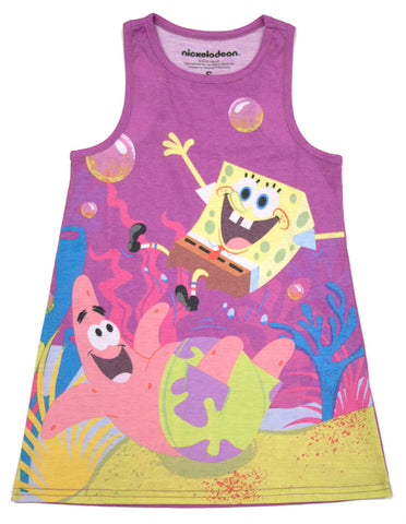 "SpongeBob SquarePants ""Beachy"" Tank Top - Girls"