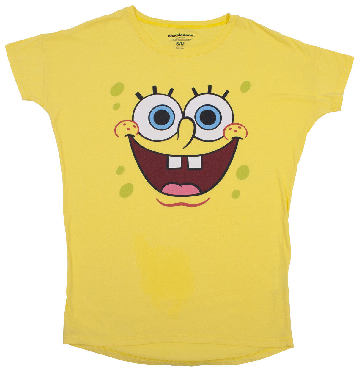 SpongeBob SquarePants Big Face Night shirt