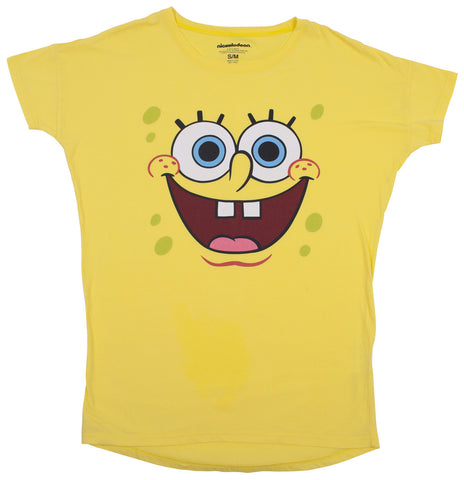 "SpongeBob SquarePants ""Big Face"" Nightshirt - Ladies"