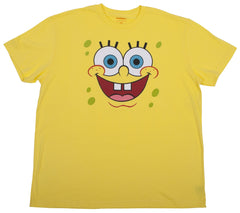 "SpongeBob ""Big Face"" Tee - Adult - nickelodeonstore.co.uk"