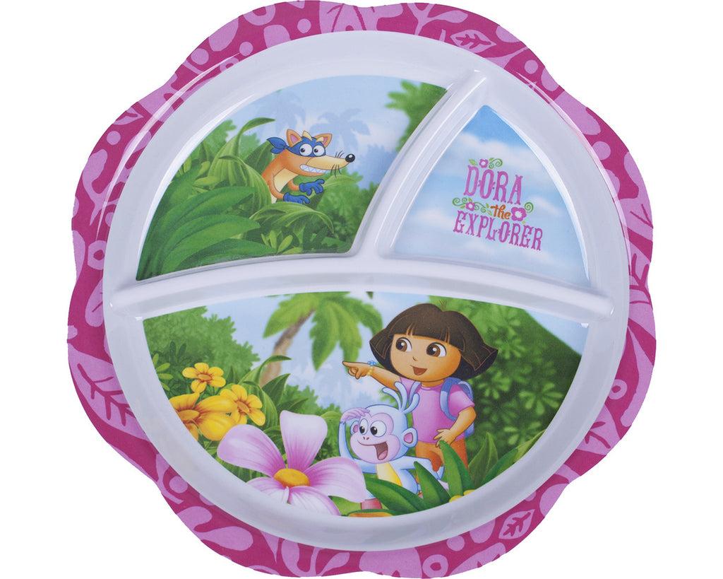 Dora The Explorer Flower Plate - nickelodeonstore.co.uk