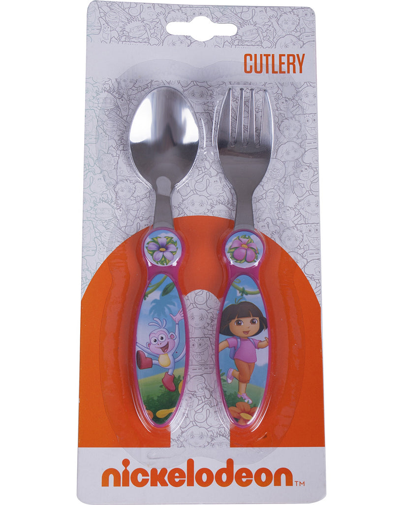 Dora The Explorer Cutlery - nickelodeonstore.co.uk