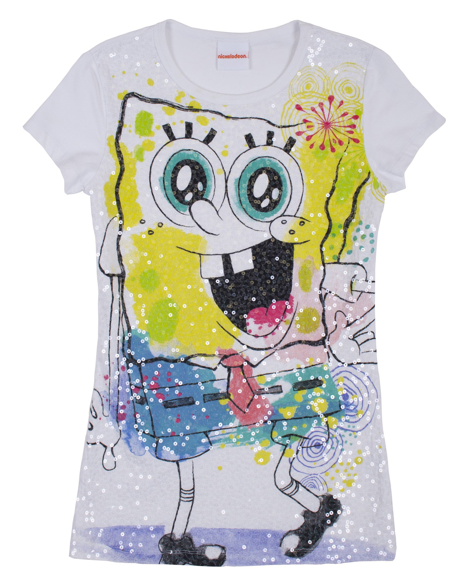 SpongeBob SquarePants Sequin Tee - Ladies