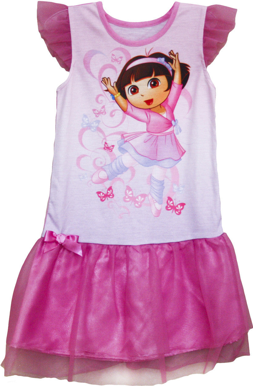 "Dora The Explorer ""Ballet"" Nightgown - Toddler - nickelodeonstore.co.uk"