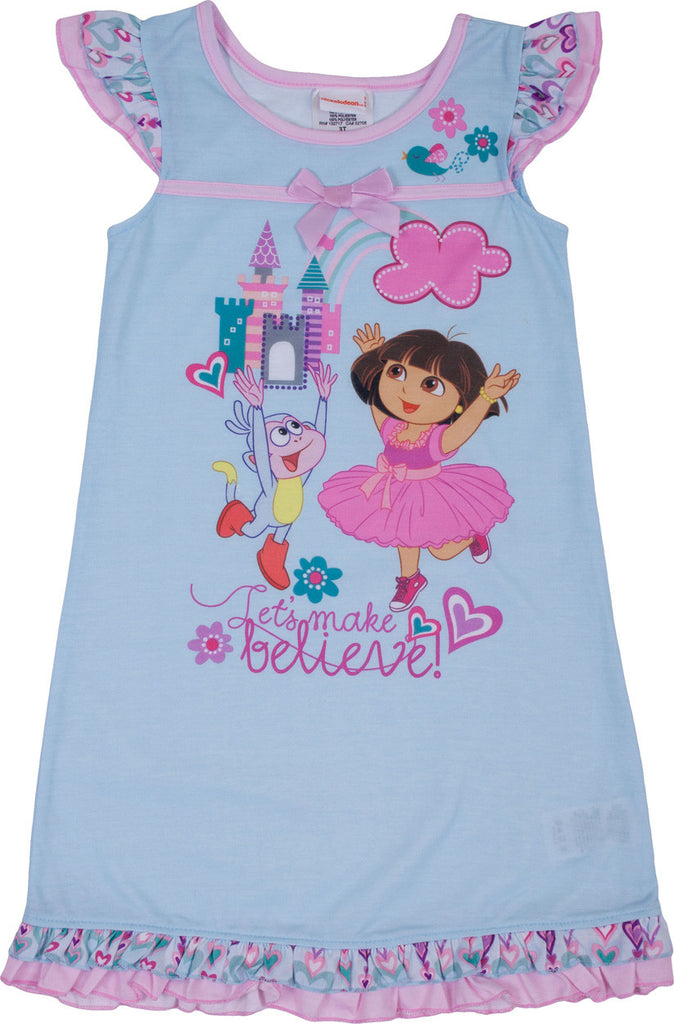 "Dora The Explorer ""Make Believe"" Nightgown - Toddler - nickelodeonstore.co.uk"