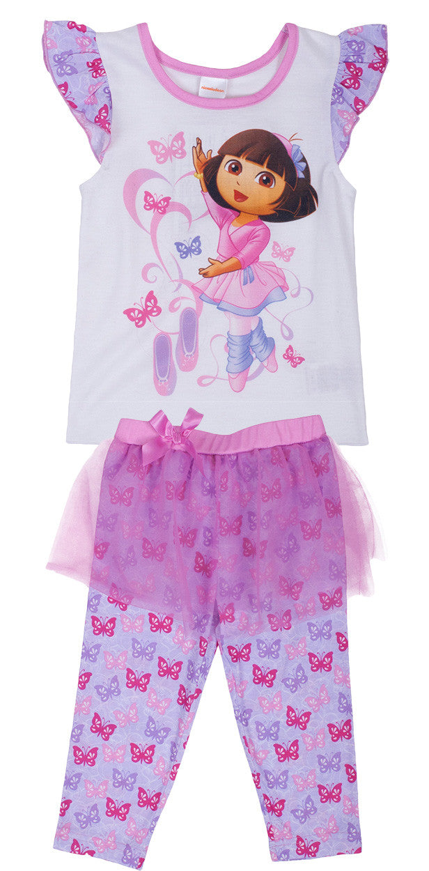 "Dora The Explorer ""Ballet"" 2pc set - Toddler - nickelodeonstore.co.uk"