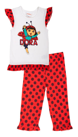 Dora The Explorer Ladybird 2pc Set - Toddler