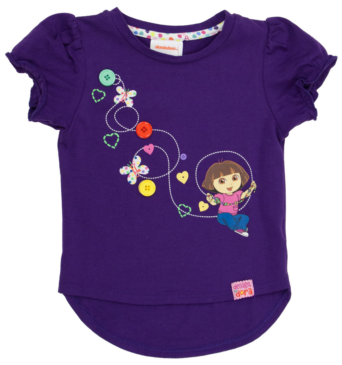 "Dora The Explorer ""Imagination"" High/Low Tee - Toddler - nickelodeonstore.co.uk"