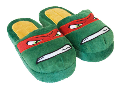 Teenage Mutant Ninja Turtles Raph Slippers - Youth