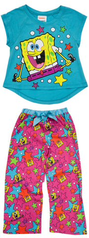 "SpongeBob SquarePants ""Bonkers"" 2pc PJ Set - Girls"