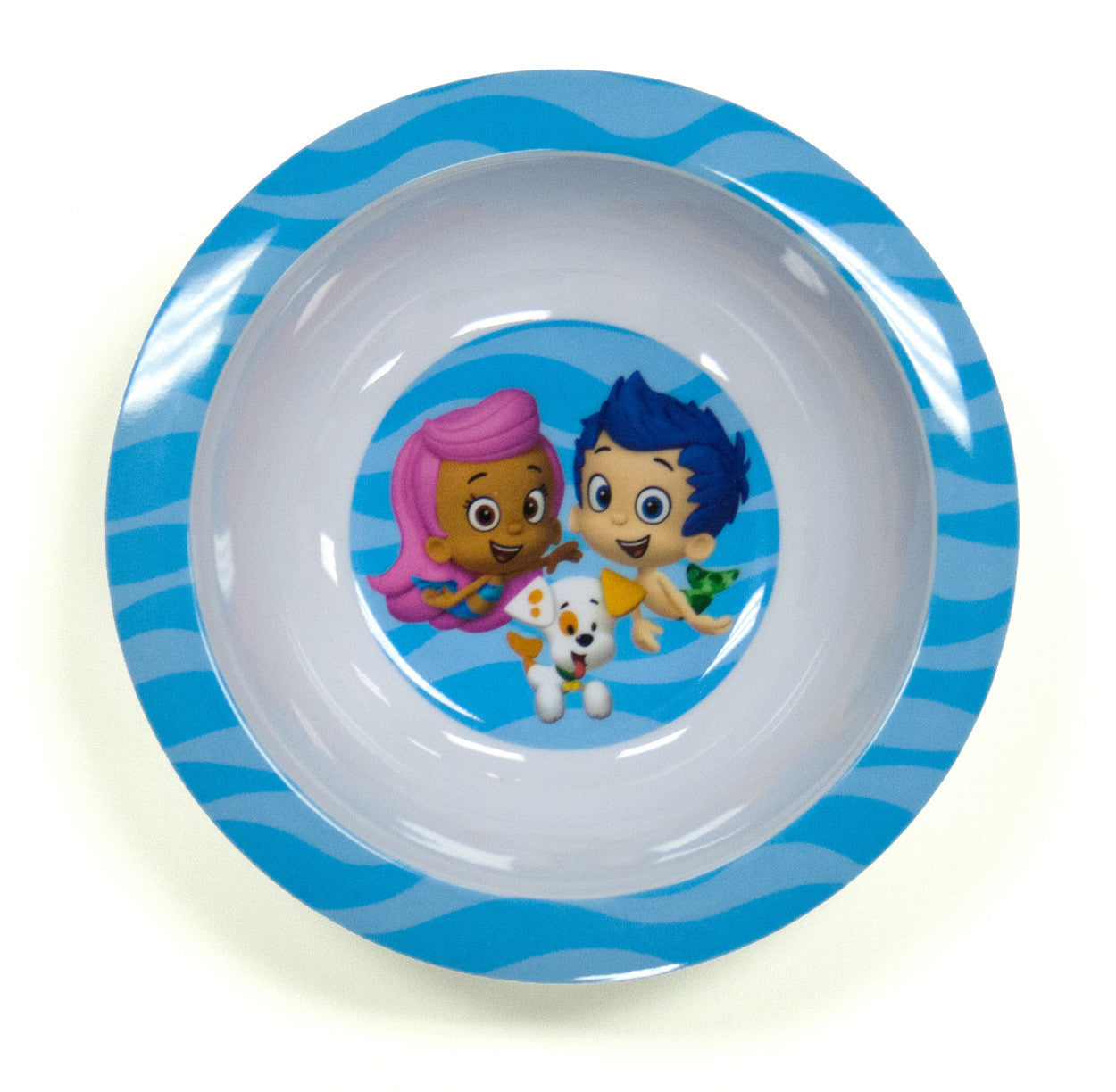 Bubble Guppies Wave Melamine Bowl - nickelodeonstore.co.uk