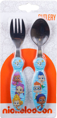 Bubble Guppies Wave Metal Cutlery