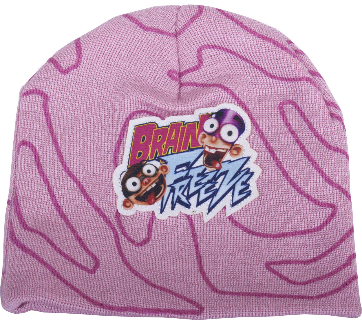 Fanboy & Chum Chum Brain Freeze Knit Hat - nickelodeonstore.co.uk