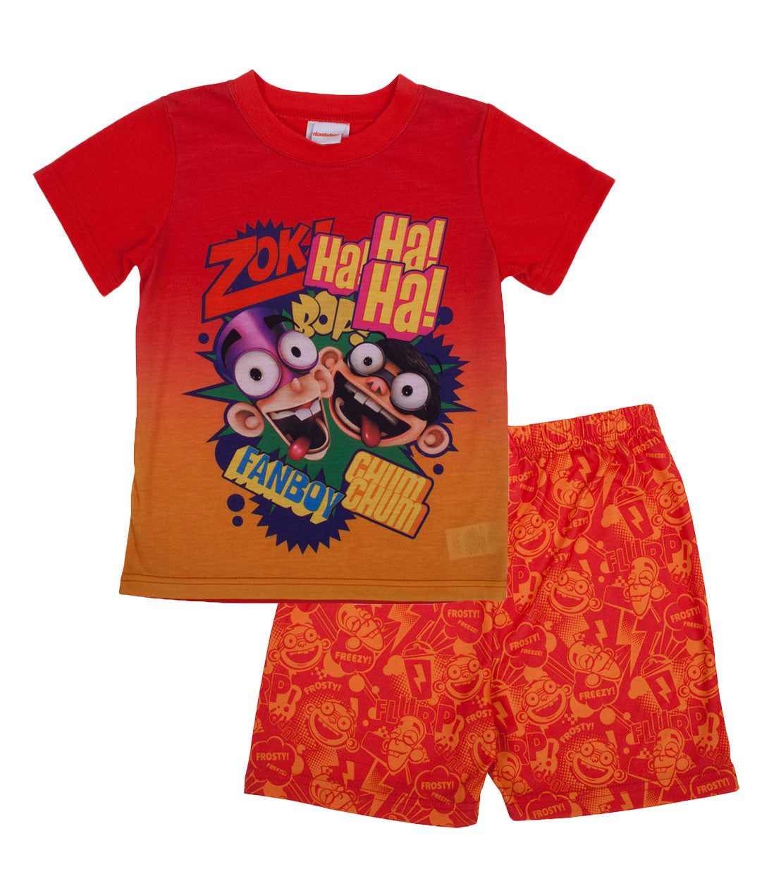 "Fanboy & Chum Chum ""Ha Ha"" 2pc Short Set - Boys - nickelodeonstore.co.uk"