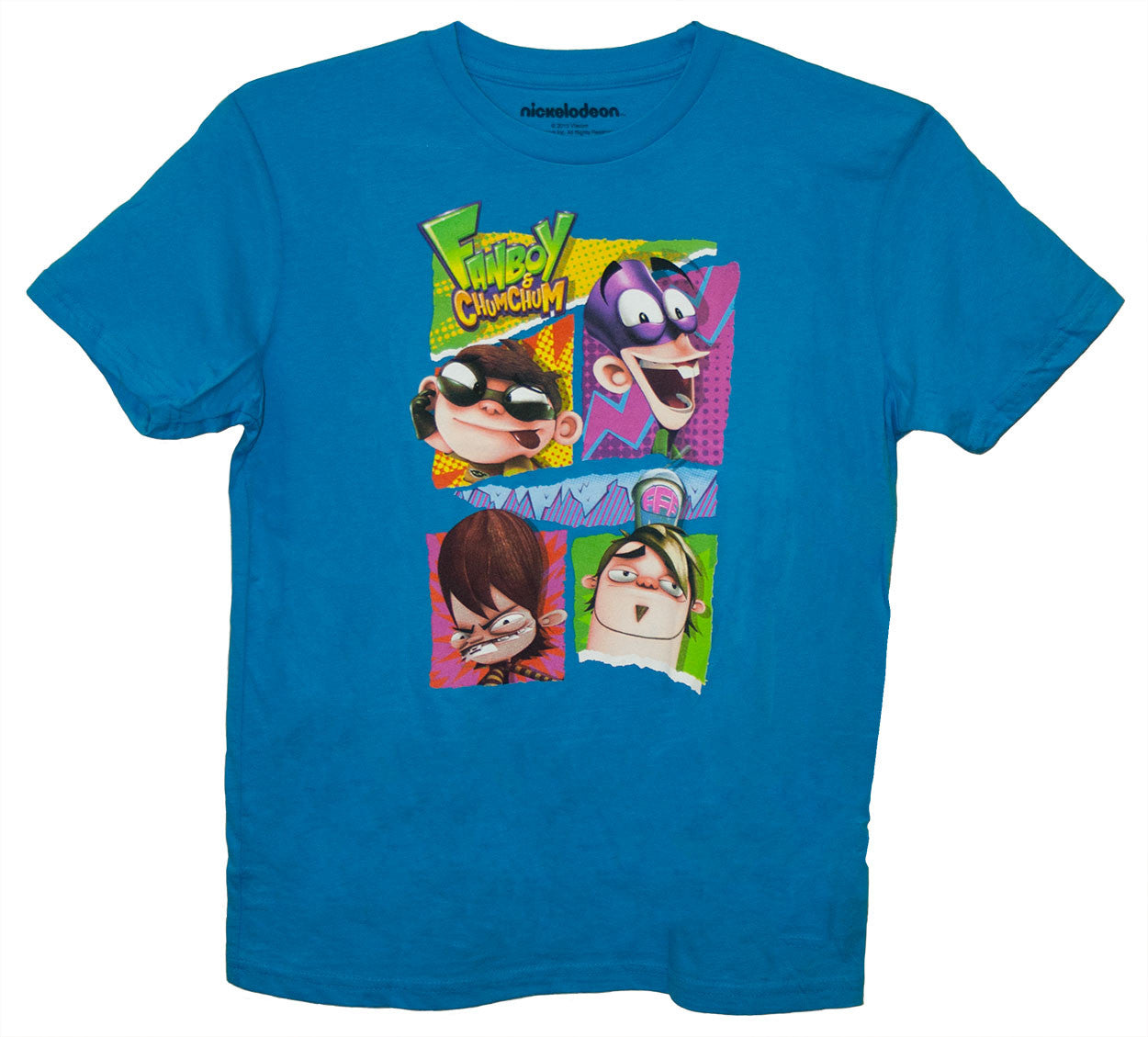 Fanboy & Chum Chum Cast Tee - Youth - nickelodeonstore.co.uk