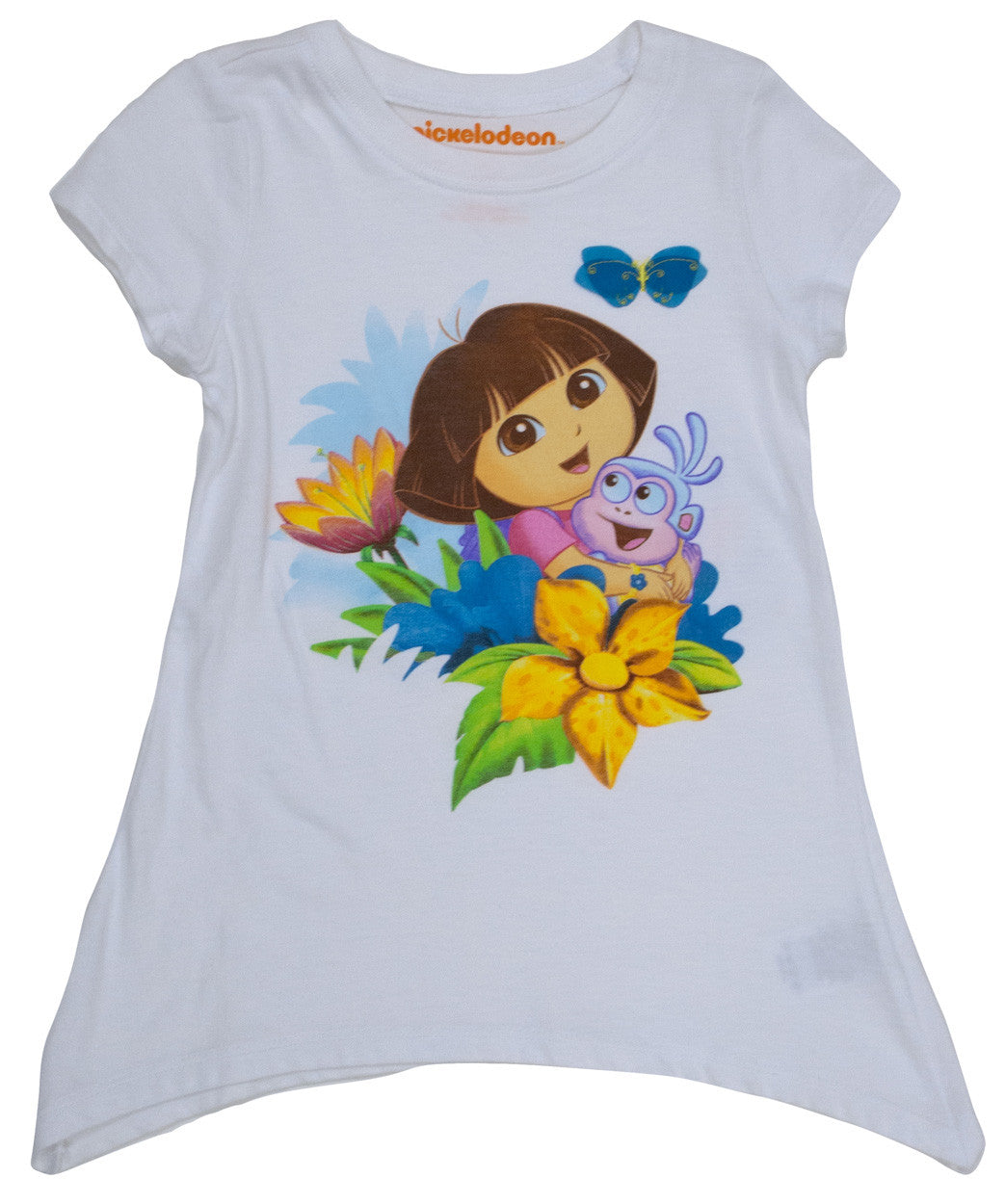 "Dora The Explorer ""Dora & Boots Swing"" Tee - Toddler - nickelodeonstore.co.uk"