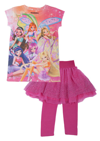 Winx Fairy 2pc PJ Set - Girls