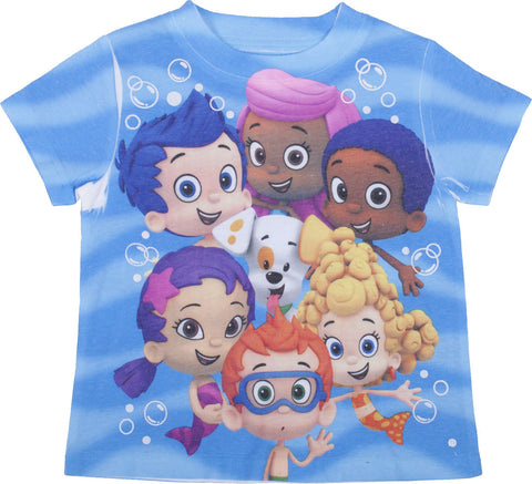 Bubble Guppies  Wave Tee - Toddler
