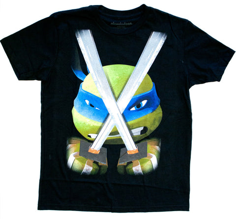 "Teenage Mutant Ninja Turtles Leo ""In Your Face"" Tee - Youth"