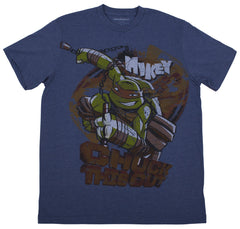 Teenage Mutant Ninja Turtles Adult Chuck Vintage t-shirt
