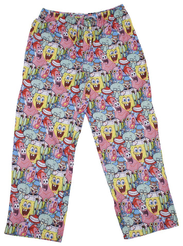 SpongeBob SquarePants Cast Lounge Pants - Mens