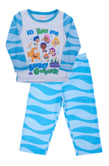 "Bubble Guppies ""Wave"" 2 pc PJ Long Set - Toddler - nickelodeonstore.co.uk"