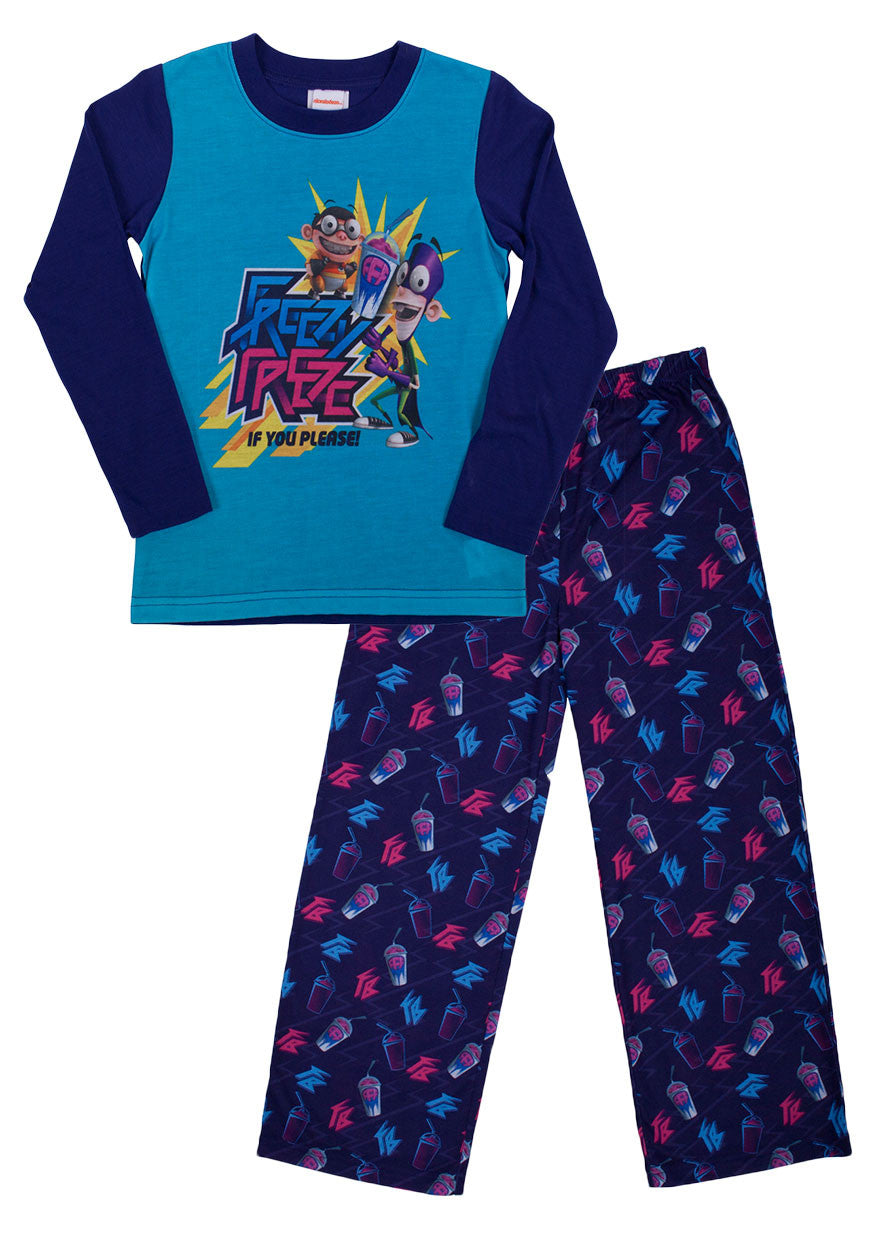 Fanboy & Chum Chum Brain Freeze 2pc Long Set - Boys - nickelodeonstore.co.uk