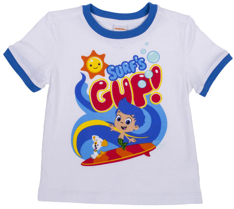 Bubble Guppies surfs gup top