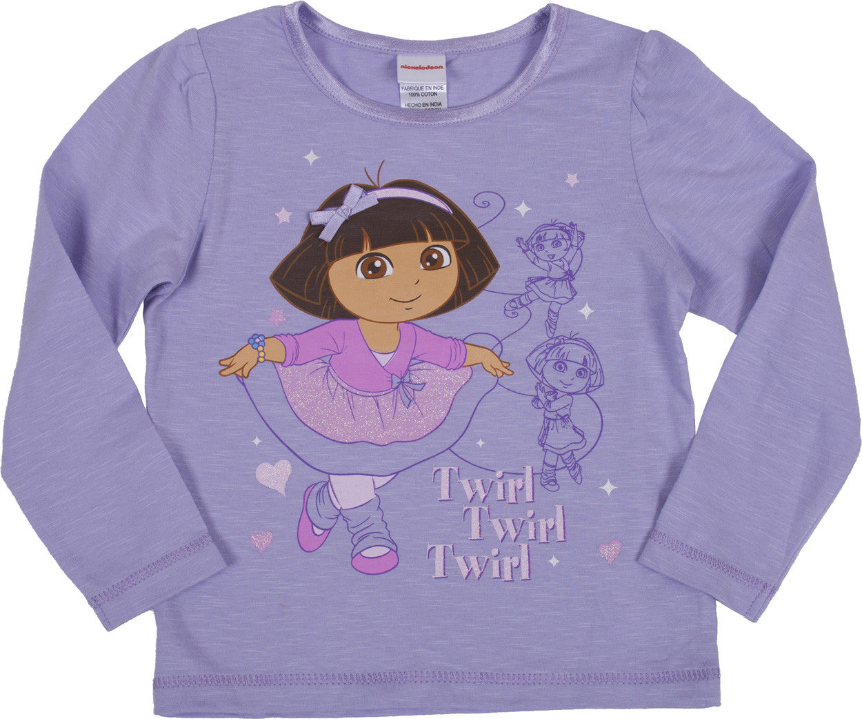 "Dora The Explorer ""Ballet"" Long Sleeve Tee - Toddler - nickelodeonstore.co.uk"