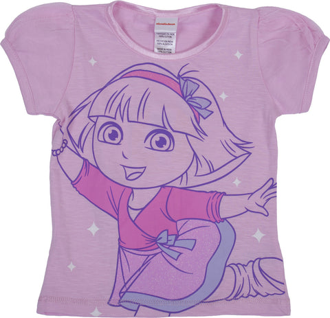 Dora The Explorer  'Ballet' Tee - Toddler