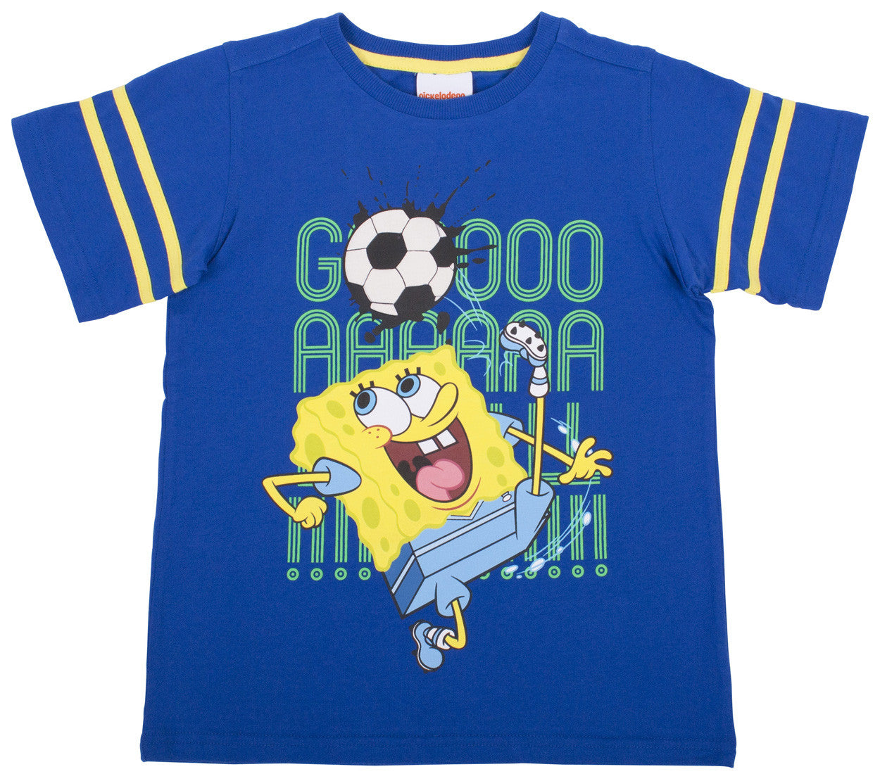 "SpongeBob Football ""Goal"" Tee - Youth - nickelodeonstore.co.uk"