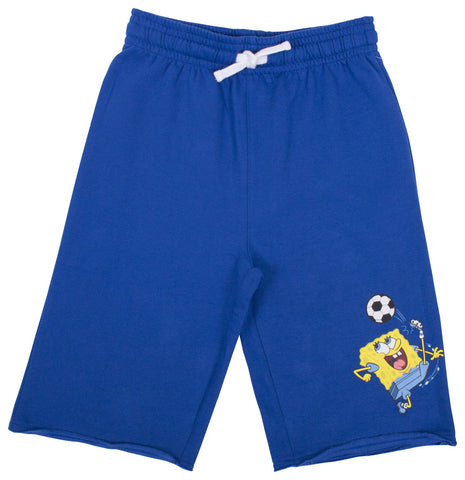 SpongeBob SquarePants Football Fleece Short - Youth