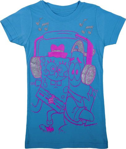 SpongeBob SquarePants Headphones Tee - Tween