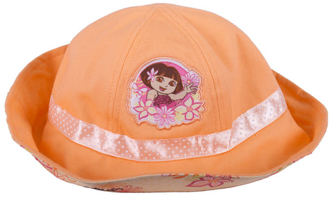 Dora The Explorer Floral Sun Hat - Toddler