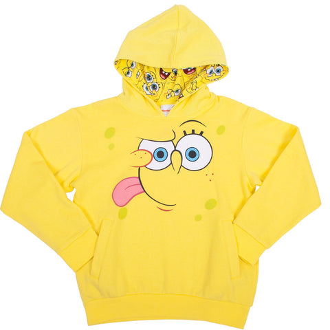 SpongeBob SquarePants Big Face Pullover - Youth