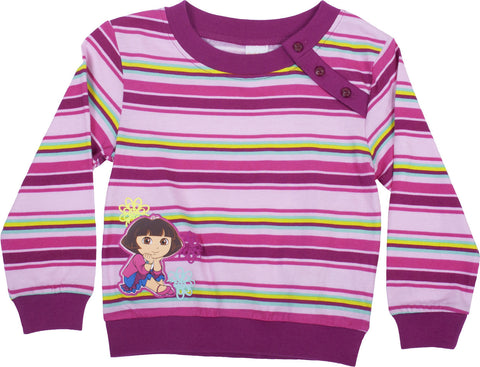 "Dora The Explorer ""Jardin"" Longsleeve Pullover - Toddler"