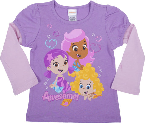 Bubble Guppies Two-Fer Tee - Toddler