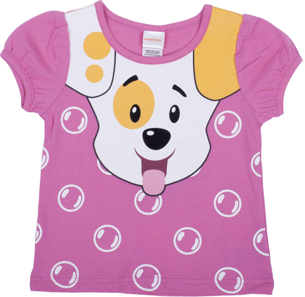 "Bubble Guppies ""Puppy"" Puff Sleeve Tee - Toddler - nickelodeonstore.co.uk"