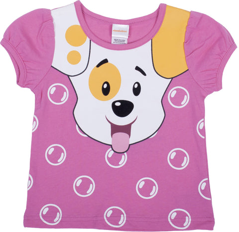 "Bubble Guppies ""Puppy"" Puff Sleeve Tee - Toddler"