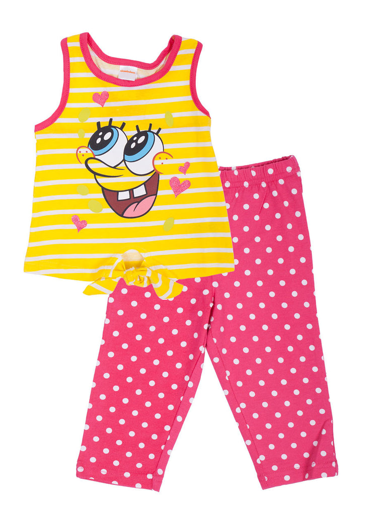 SpongeBob SquarePants toddler capri set