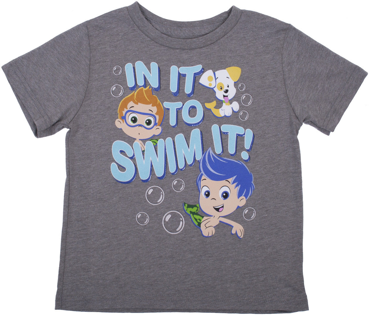 "Bubble Guppies ""In It To Swim It"" Tee - Toddler - nickelodeonstore.co.uk"