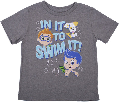 "Bubble Guppies ""In It To Swim It"" Tee - Toddler"