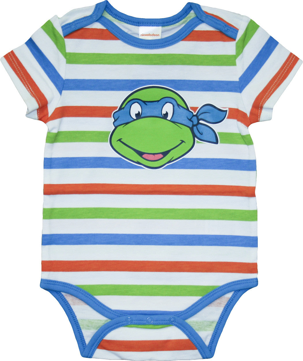 Teenage Mutant Ninja Turtles Retro Striped onesie