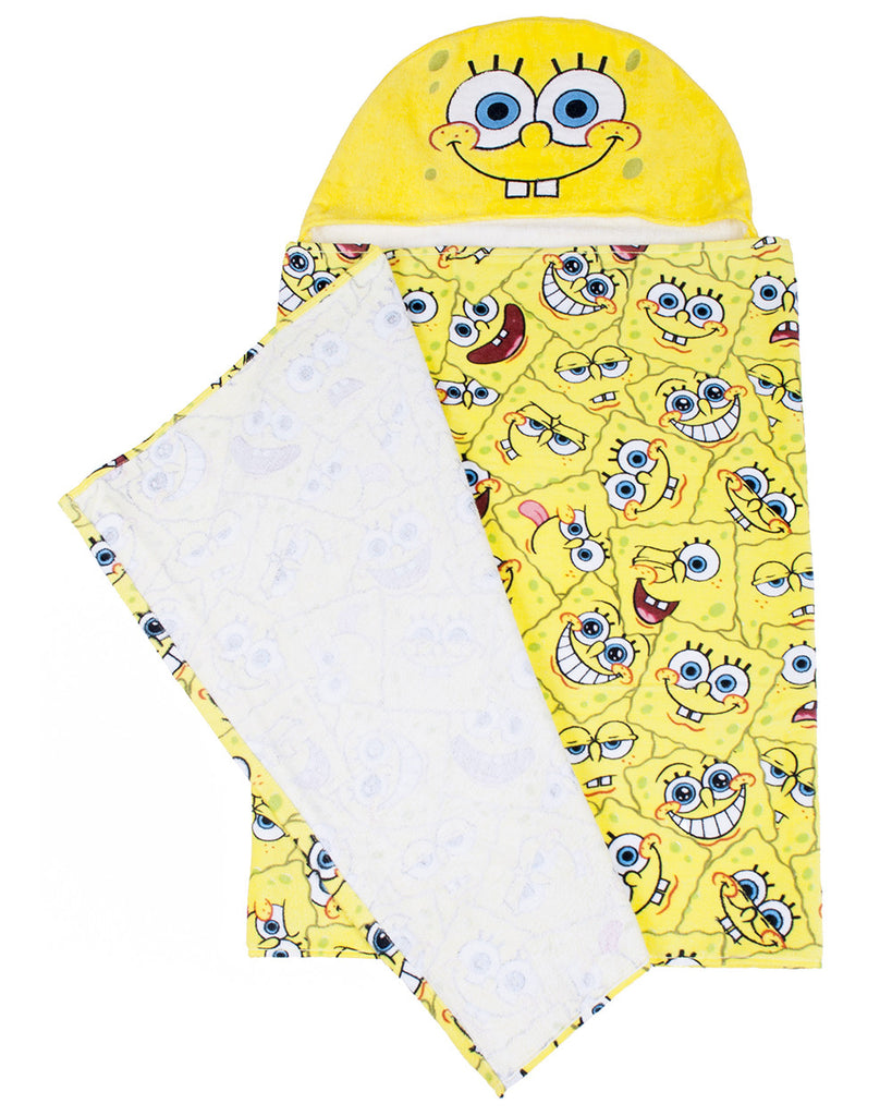 SpongeBob SquarePants hooded towel